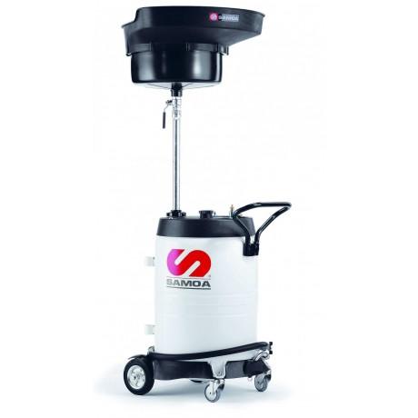 Récupérateur 100L, vidange pression