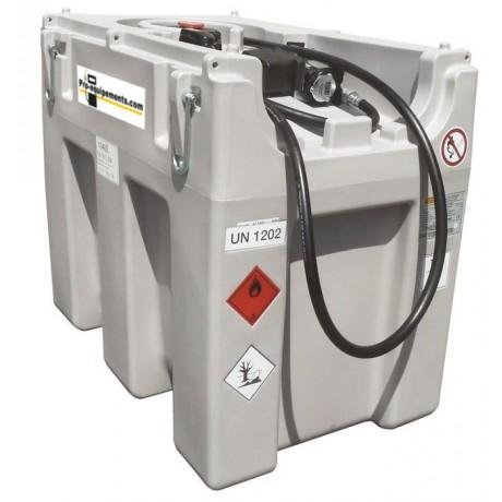 Cuves de ravitaillement GASOIL de 600L avec batteries rechargeable