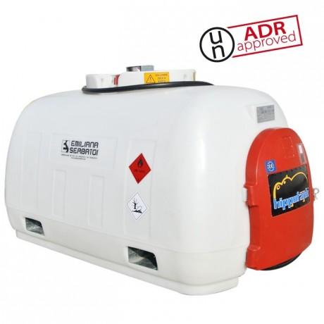Cuve de ravitaillement Gasoil 960L en PE avec pompe 12V ou 24V