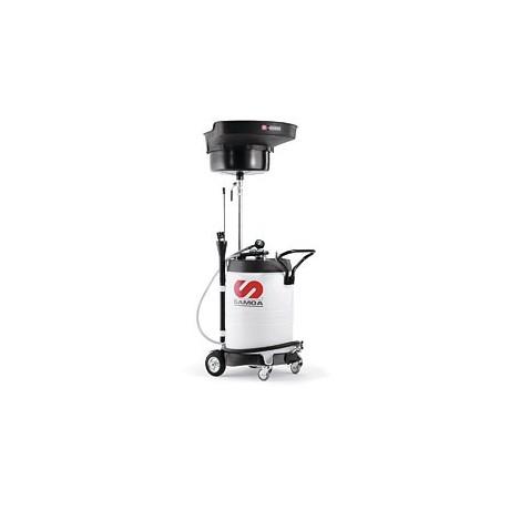 Récupérateur d'huile usée mixte par aspiration et gravité 100L