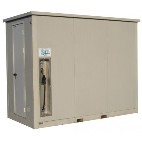 Container de stockage et distribution GASOIL / GNR